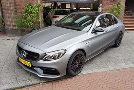 WrapAndGo Carwrap Mercedes SLC APA Matte Grey