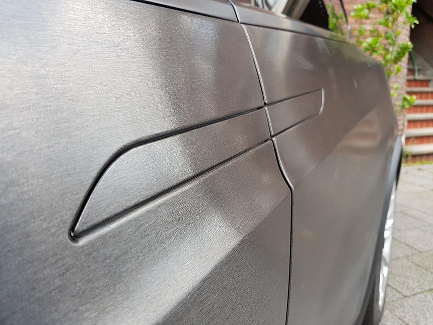 Tesla Model X 3M Brushed Black Deurgrepen