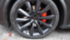 Tesla X Velgen Remklauwen spuiten