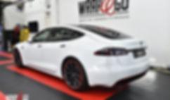 Tesla S Chrome Delete Carwrap