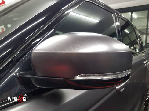 Range Rover 3M Satin Dark Grey Wrap