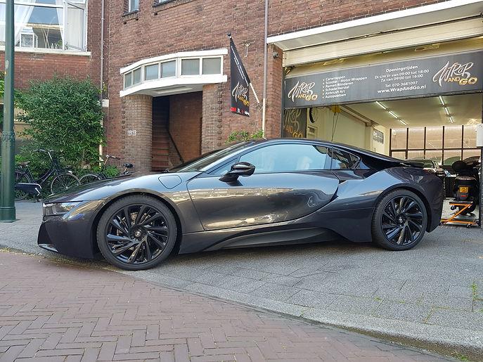 BMW i8 3M Carbon Carwrap