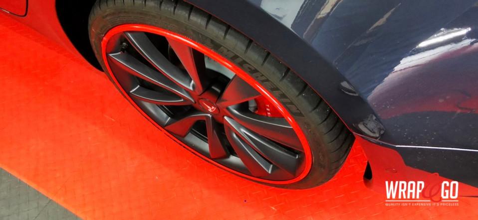 Tesla Model 3 Alloygator, Lampen tinten,