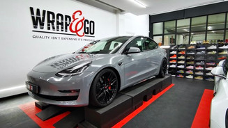Thumbnail Tesla Model 3 Nardo Grey Wrap