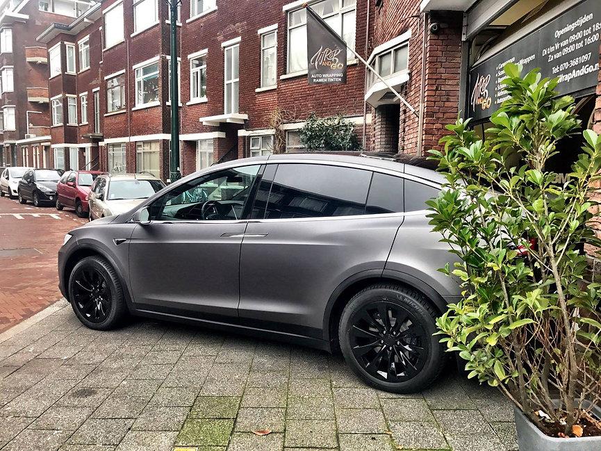 Tesla Model X 3M Matte Metallic Grey