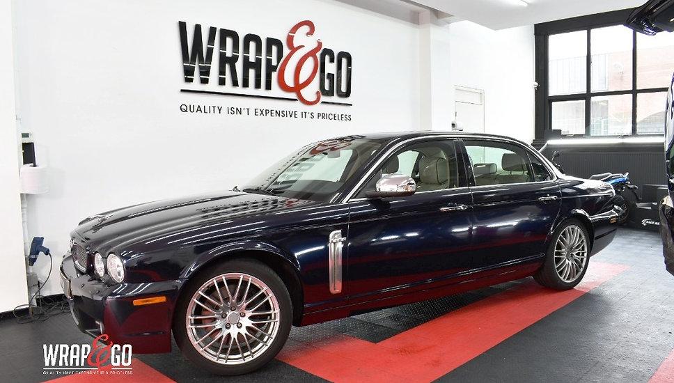 Jaguar XJ Carwrap 3M Front