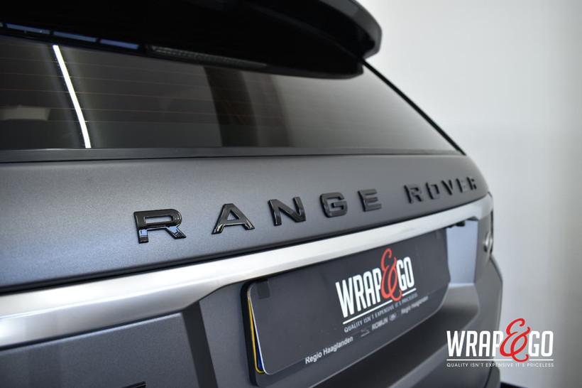 Land Rover 3M Matte Dark Grey Car Wrap