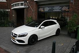 Carwrap Mercedes Autowrap A-klasse