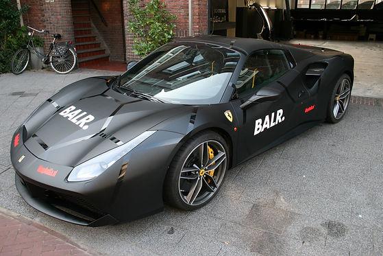 Ferrari Balr Carwrap Autowrap WrapAndGo.