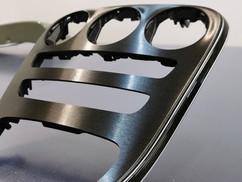 Mercedes Interieur Wrap Brushed Black