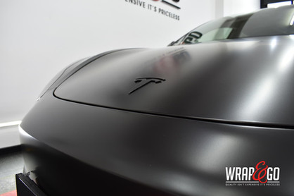 Tesla Model 3 All Satin Black