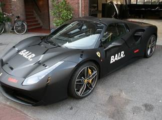 BALR Ferrari 488 Spider Car Wrap