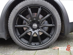 Tesla Model X velgen satin black Alloyga