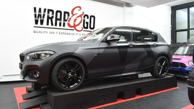 BMW 1-serie Camouflage Car wrap Design