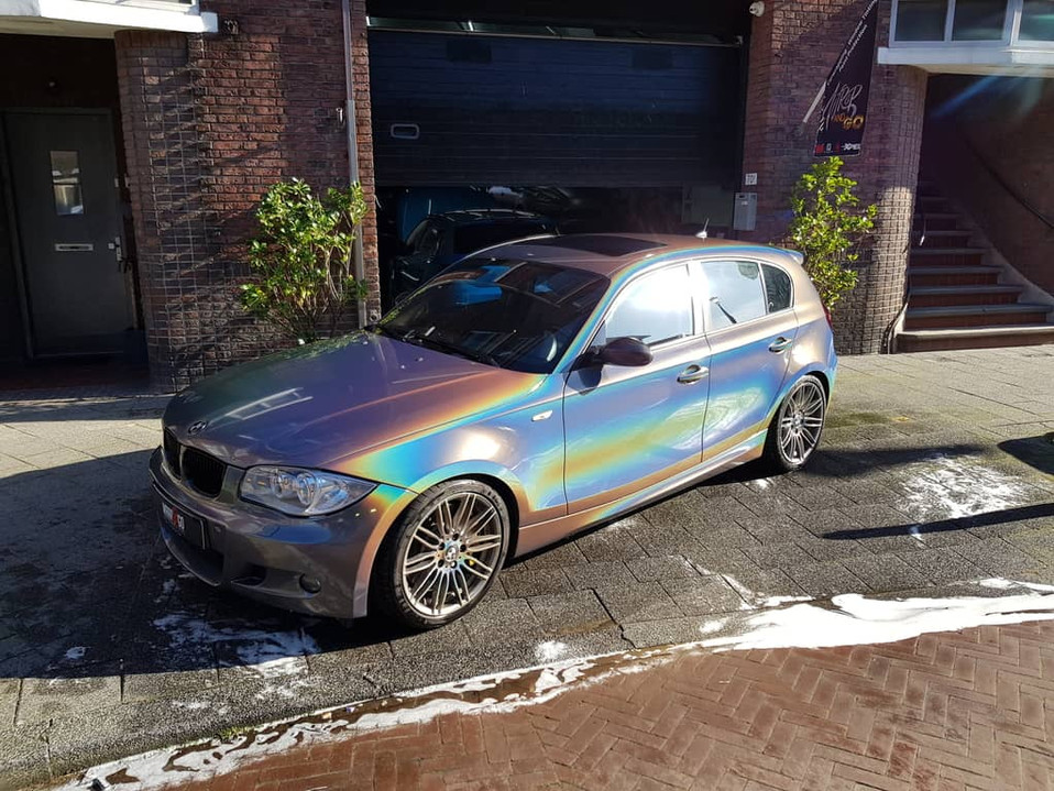 BMW 1-serie 3M Psychedelic Wrap