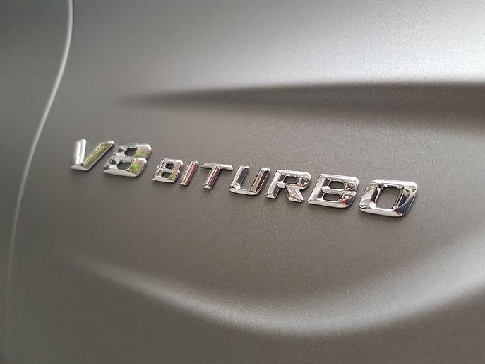 Carwrap WrapAndGo Mercedes C-Coupe Avery Diamond White Outsiders