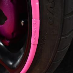 Alloygator Velgen Beschermer Roze