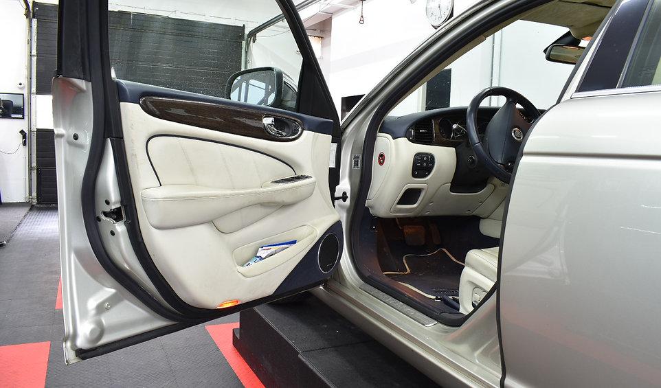 Jaguar XJ Carwrap 3M Binnenkant