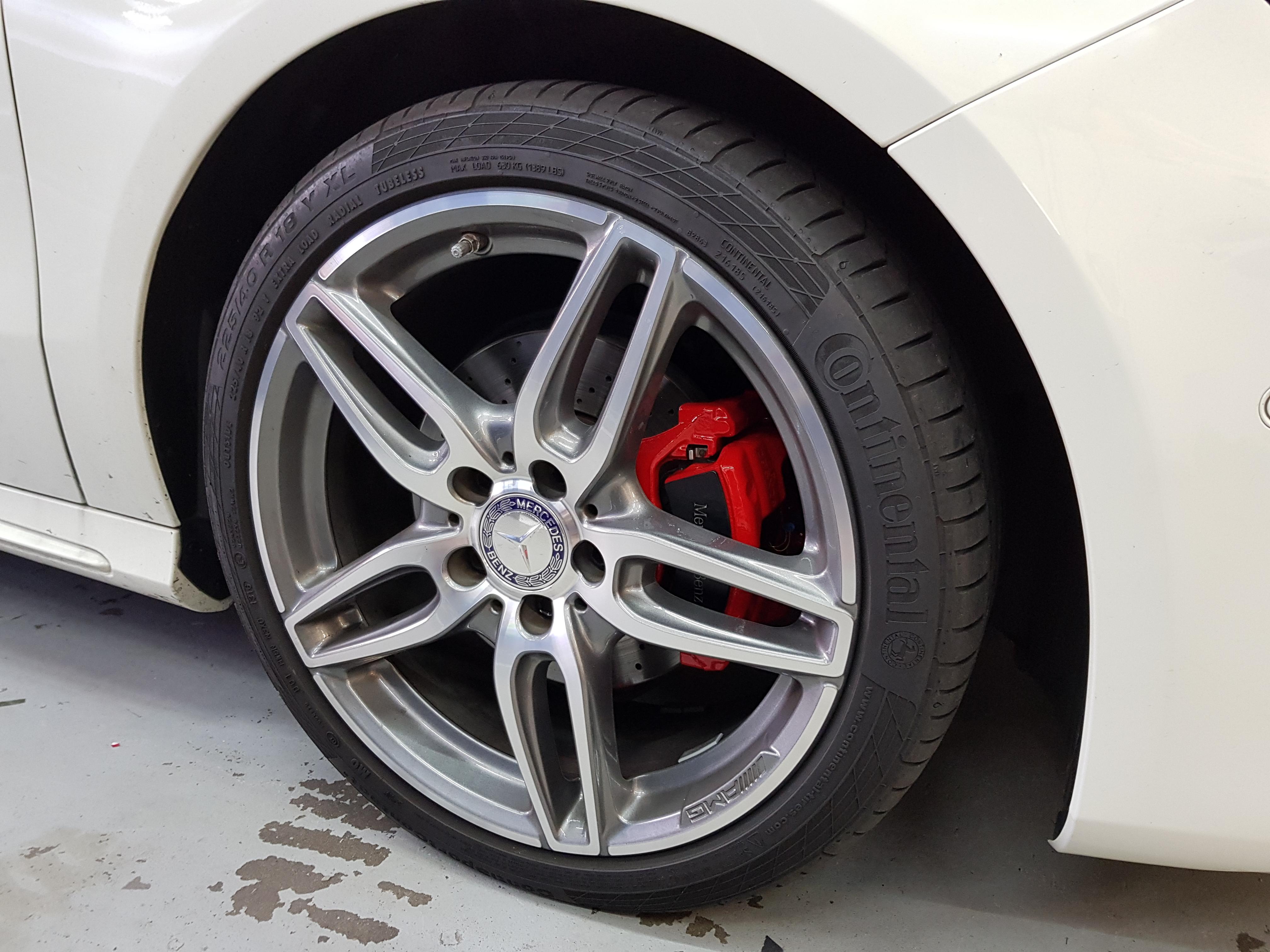 Remklauwen Spuiten Mercedes