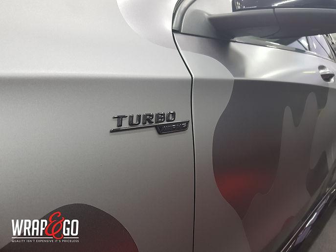 Carwrap WrapAndGo Mercedes C-Coupe Avery Diamond White