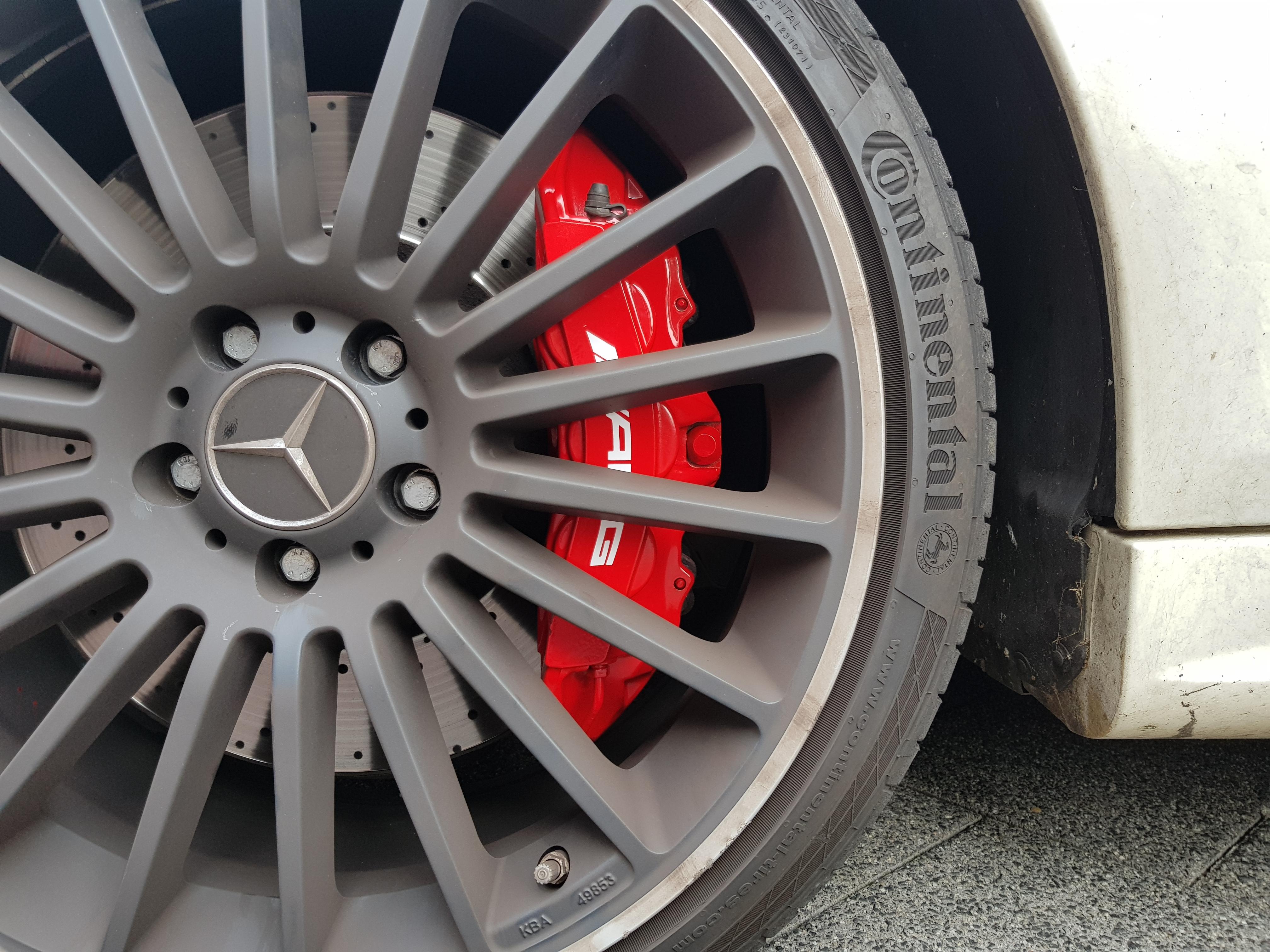 Remklauwen Spuiten Mercedes AMG