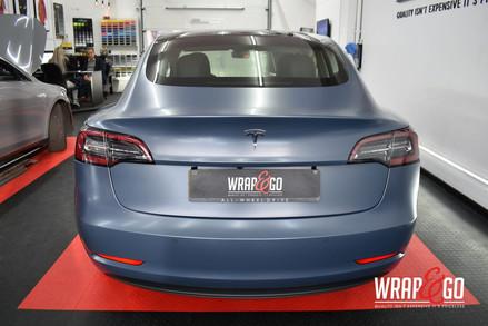 Tesla Model 3 3M Satin Thundercloud