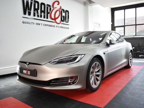 Tesla Model S 3M 1380 Matte Grey Metallic