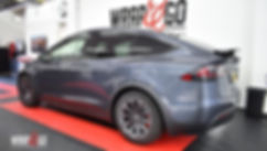 Tesla Model X Carwrap Back