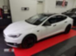 Carwrap Tesla Model S Carbon
