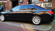 BMW 7-serie ramen tinten