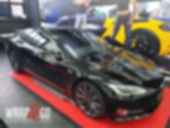 Carwrap Tesla Model S Ramen Tinten