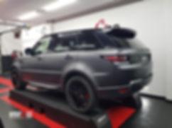 Range Rover Carwrap 3M Dark Satin Grey WrapAndGo