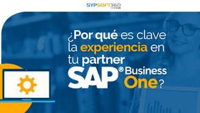 ¿Por qué es clave la experiencia en tu partner SAP?