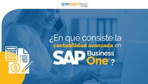 ¿En qué consiste la contabilidad avanzada en SAP Business One?