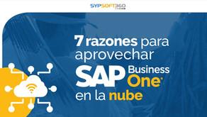 7 razones para aprovechar SAP Business One en la nube