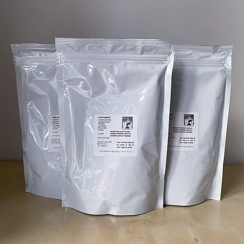 Specially Prepared Support Powders