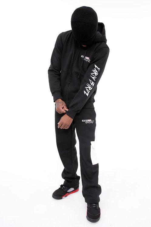 SRT8 JAMMIN' Black Jogger Set