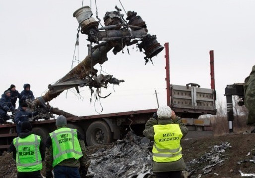MALAYSIAN FLIGHT MH17 SHOT DOWN BY RUSSIAN-MADE MISSILE