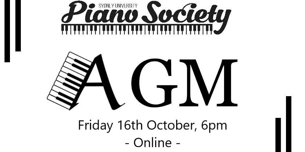 PianoSocs Online AGM