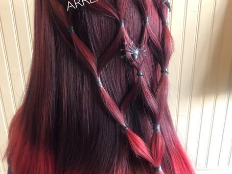 🎃HALLOWEEN HAIR ARRANGE☆👻