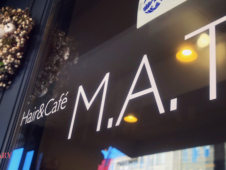 [Hair&Cafe M.A.T 4周年]