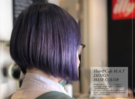 🦋〈 Blue + Lavender Hair Color〉🦋