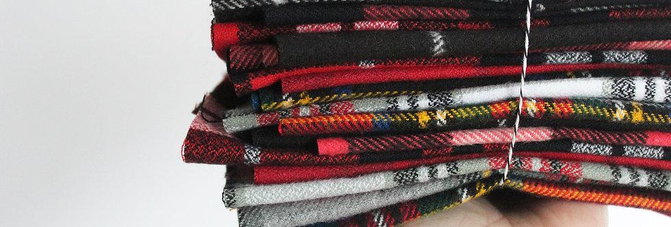 Flannel Remnant Scrap Bundle