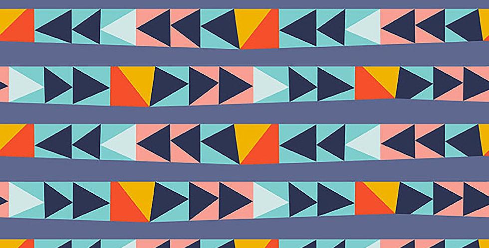 Wonder Brave Blue Triangles Katie Larson