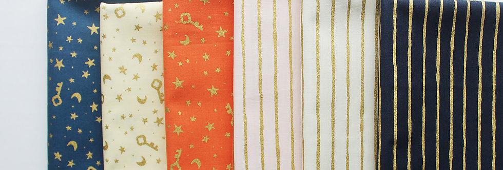 golden dreams fabric bundle