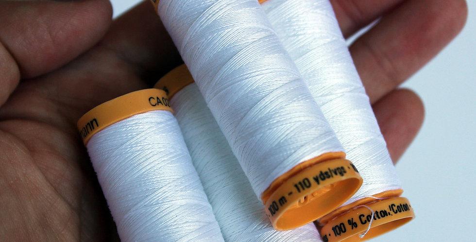 White Thread / Gütermann / Cotton Thread