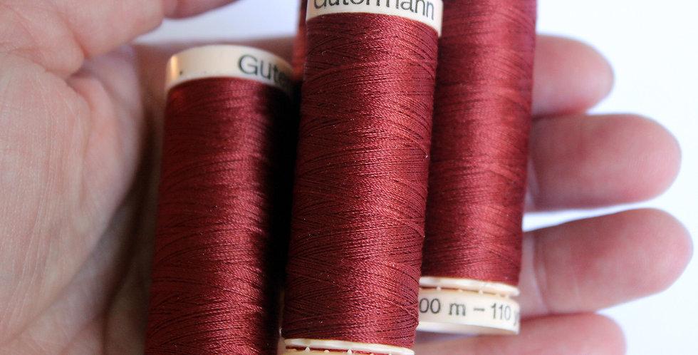 Rust Thread / Gütermann / Sew-All Polyester All Purpose Thread
