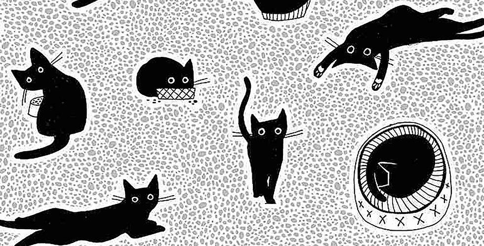 Les Chats Noirs Chillin