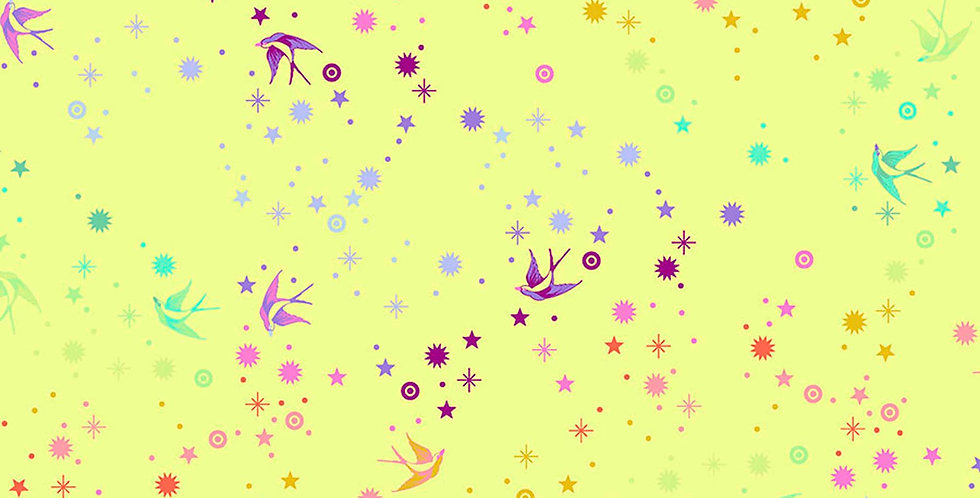 Fairy Dust Lime Tula Pink