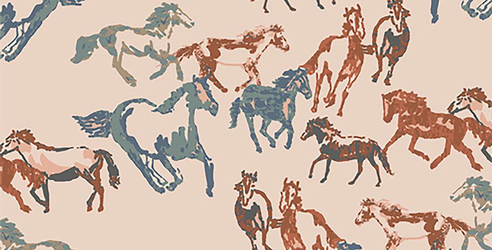 horse boundless spirit fabric